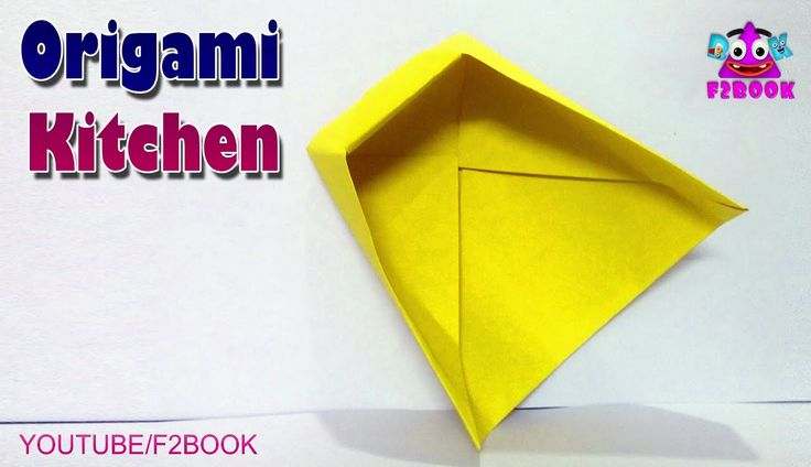 DIY kitchen Origami - Home / Kitchen Paper itam - Origami For Kids F2BOO...