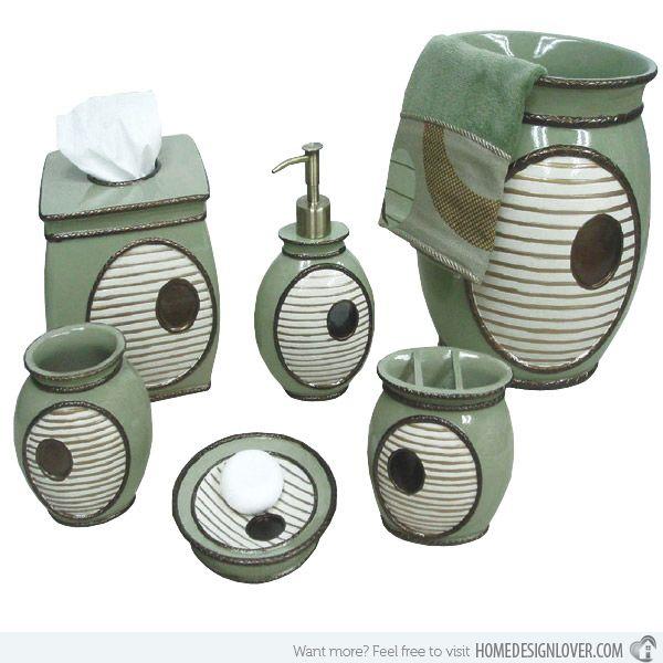 15 Trendy Modern Bathroom Accessories Set