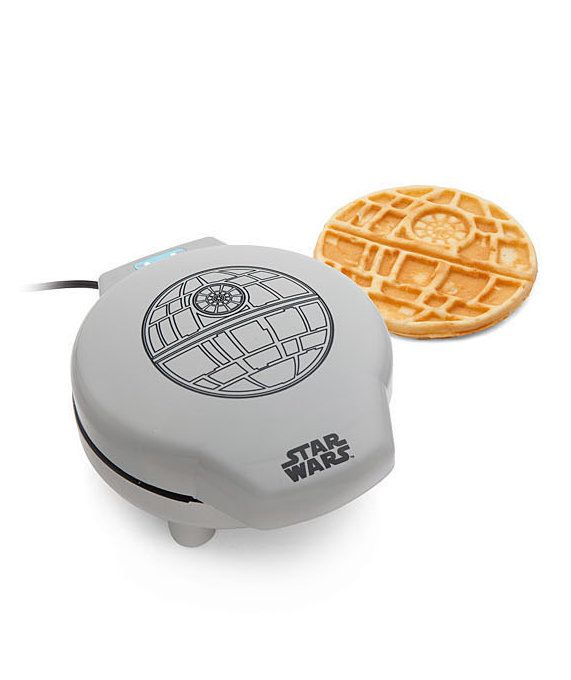 Funny Gifts for Men | Maybe if Darth Vader had homemade waffles in the shape of the Death Star every morning, he might have changed his nefarious ways.