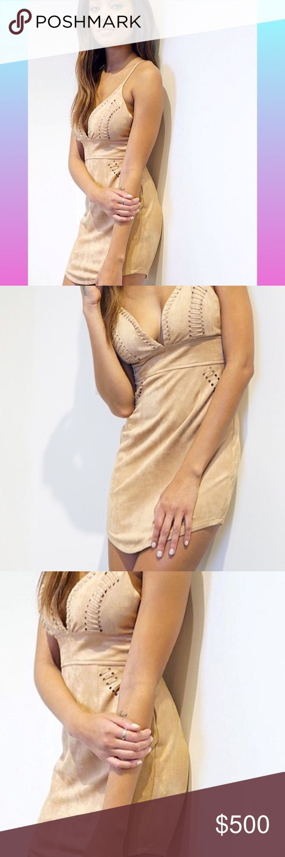 """Bohemian Summer Dress - Desert Vibes Laced-Up Beautiful Laced Up Sides & low cut dress by Tea & Cup 
