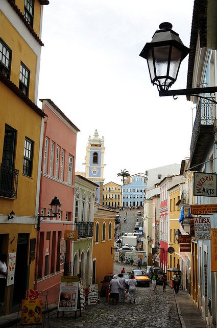 Brazil is a colorful country and people are really friendly. We have so many beautiful and interesting places to visit.