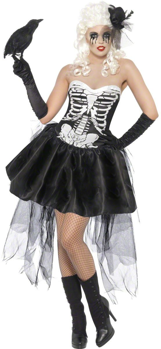 Skelton+costumes+for+women | Skeleton costume for women : Vegaoo Adults Costumes