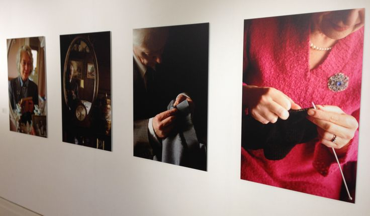 Family ties: re-framing memory exhibition: photo series