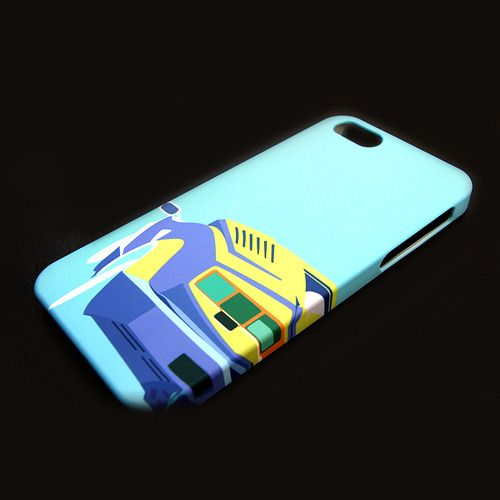 Mobile phone case with Lamborghini Countach iconic design illustration. Not only the iPhones, we support almost all kinds of Android phones too!