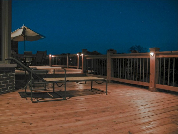 13 best images about deck wall lighting on pinterest