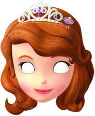 Parti Beta - Prenses Sofia Maske #princess #sofia #mask