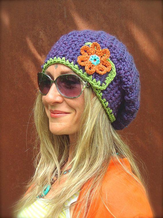 16 besten Béret crochet Bilder auf Pinterest | Hüte, Hut häkeln und ...