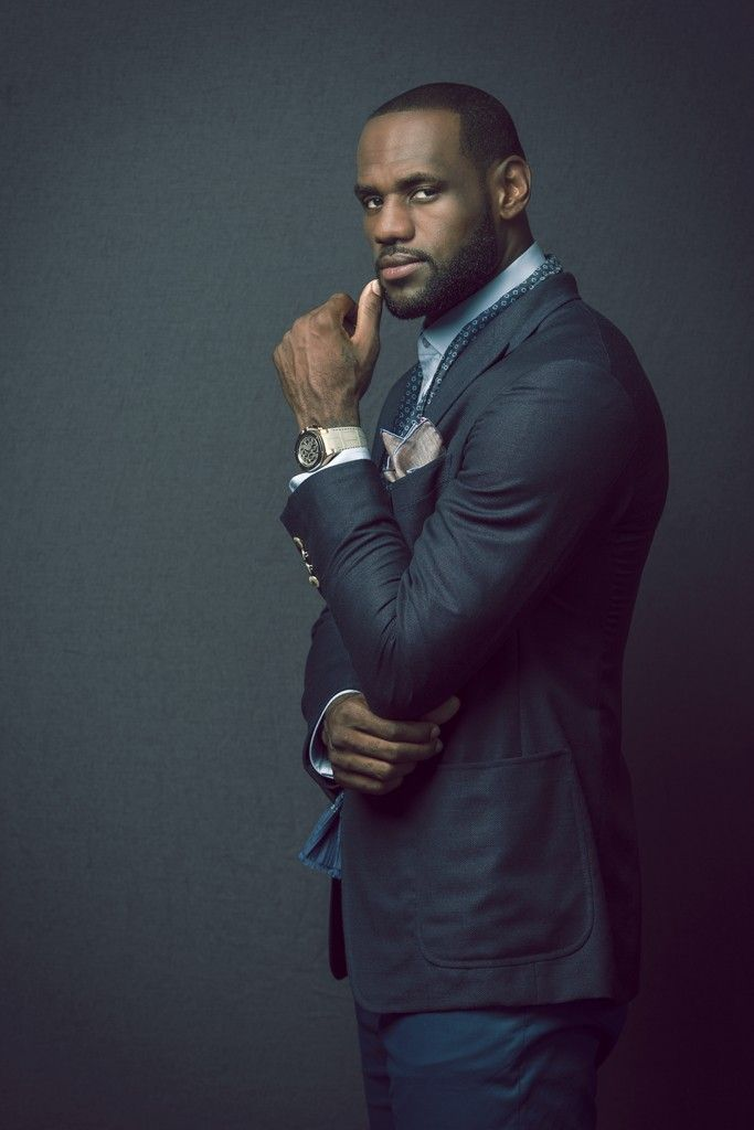 LeBron James on Style and Swagger [Photo by Juan Fernando]