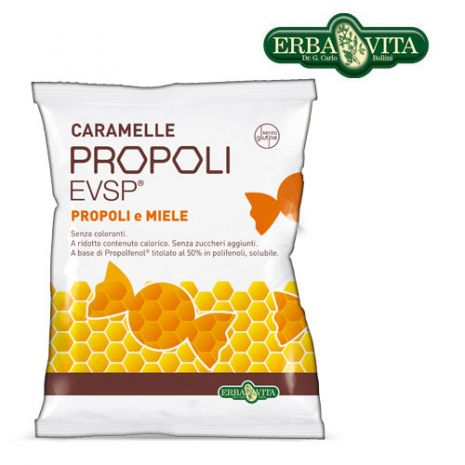 e-orthoshop.com | ERBA | Propoli Lozenges (in expo 24 pcs) Παστίλιες