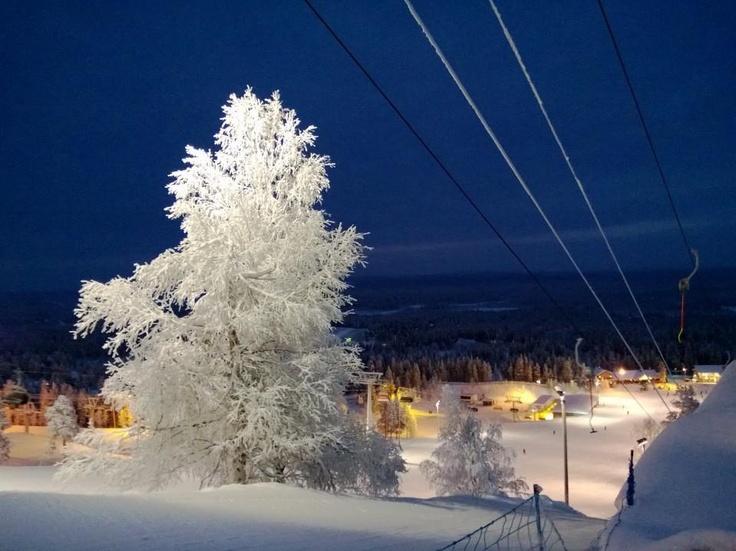Pyhätunturi 25.12.2012 Lapland, Finland