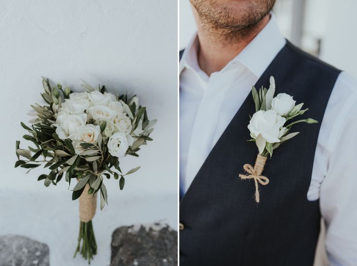 The Groom | Elopement in Sifnos Island, Greece