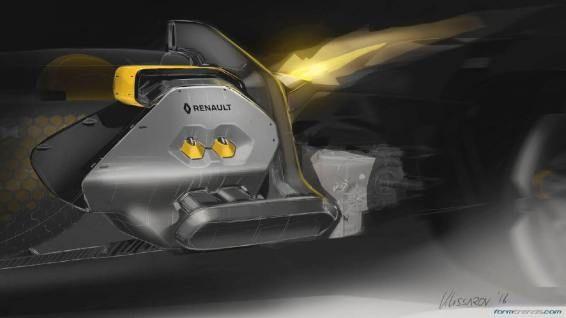 Renault RS 2027 Vision concept engine bay design theme