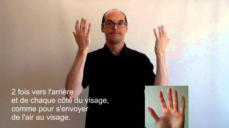 Les verbes en langue des signes française