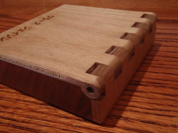 Tenkara Fly Box Wooden Hinge