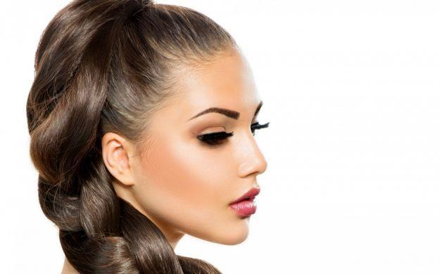 Прическа в деловом стиле ::: onelady.ru ::: #hair #hairs #hairstyle #hairstyles