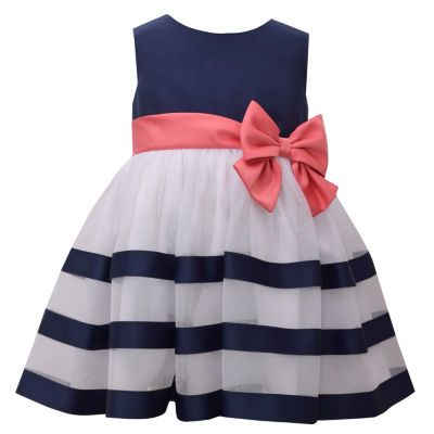 Buy Bonnie Jean Sleeveless Navy Ribbon Dress - Baby Girls at JCPenney.com today and Get Your Penney's Worth. Free shipping available