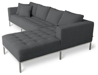 Gus Modern Carter Sectional Sofa - modern - sectional sofas - by csnstores.com