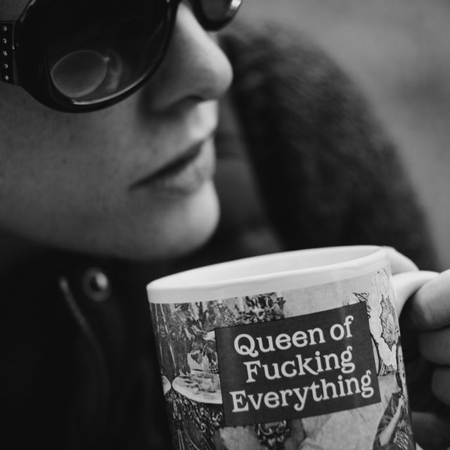 I can't believe I don't already own this mug- Queen of Everything Mug
