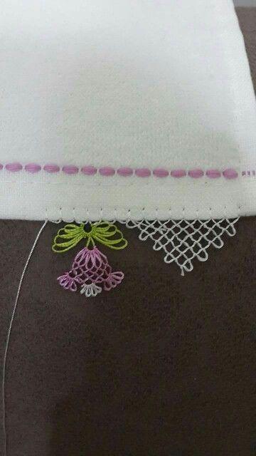İğne oyası - Turkish Needle Lace iğne oyası