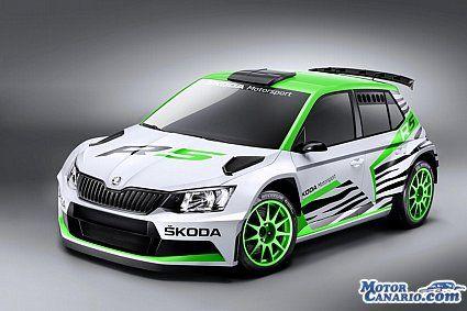 SKODA Fabia R5 Concept: presentado en el momento oportuno.