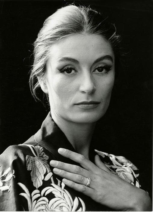 Anouk Aimee, 1961, Herbert List