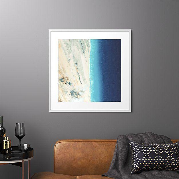 Somalia Coast By Benjamin Grant Of Daily Overview Dark Wood Frames Home Decor Mirrors Modern Art Prints
