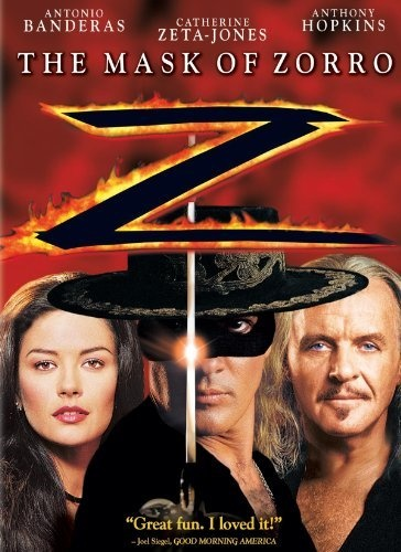 The Mask Of Zorro: Antonio Banderas, Anthony Hopkins, Catherine Zeta-Jones, Stuart Wilson