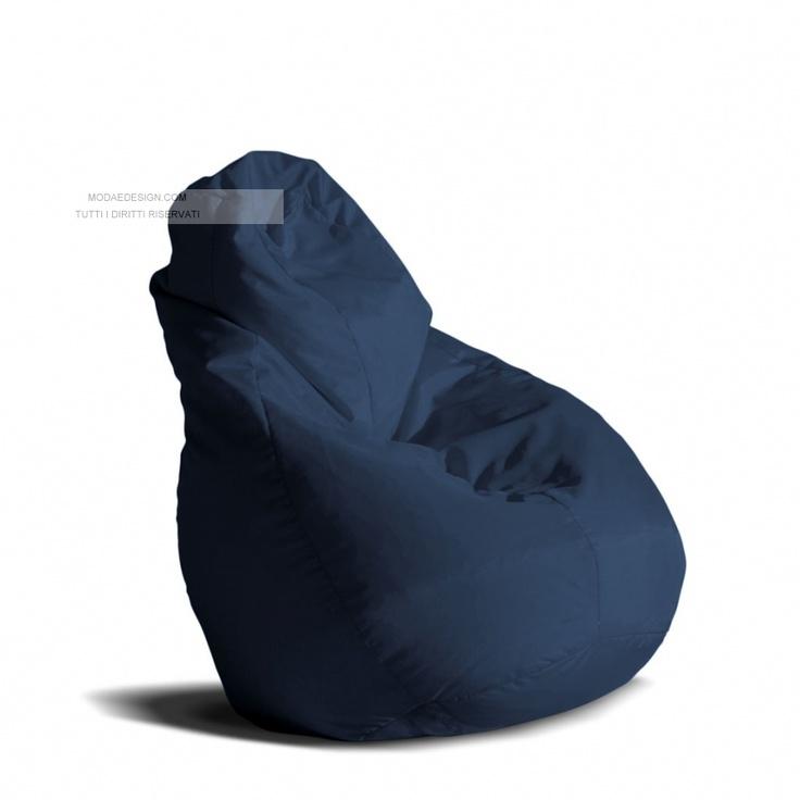 Il Sacco Leather Bean BagBean Bag FurnitureBean