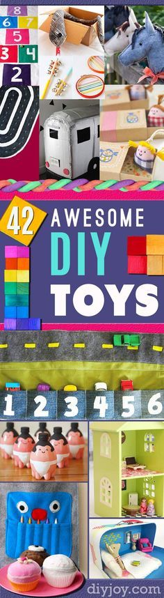 Do It Yourself Christmas Gifts for Kids - Homemade Christmas Presents for Children and DYI Christmas Crafts for Kids   Toys, Dress Up Clothes, Dolls and Fun Games   Cool gifts to make for boys and girls   http://diyjoy.com/diy-christmas-gifts-for-kids