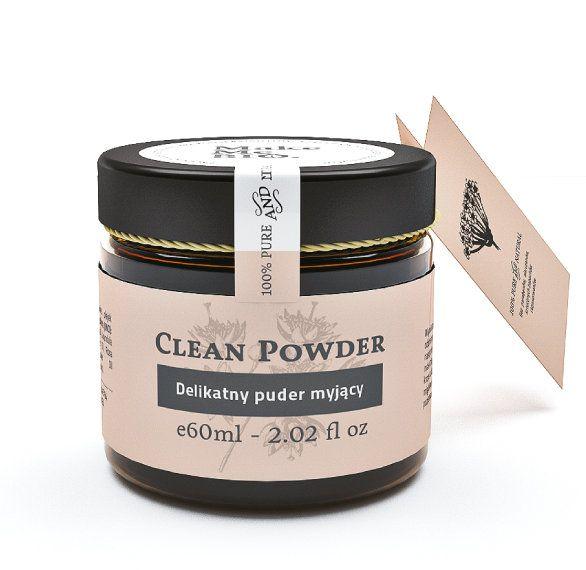 Clean Powder Delikatny puder myjący - Nieprzyzwoicie naturalny sklep dla kobiet lubiących siebie