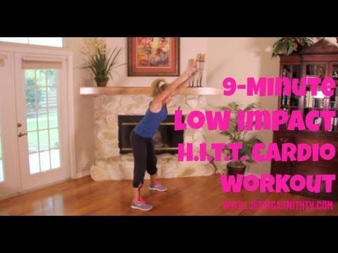 Video / Low Impact HIIT (High Intensity Interval Training) Cardio Workout for Joint Pain