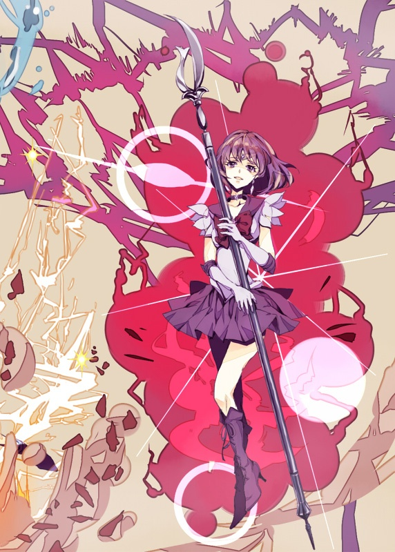 sailor saturn destruccion