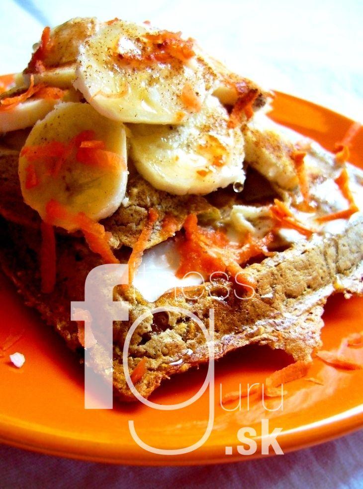 Mrkvové waffle