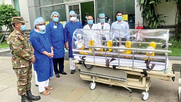 Bengalreader বলদশ সনবহন এভরকযর হসপতল Atকয কভড পরতকরযর জনয পরযজনয চকৎস সরঞজম দন করছ Hospital Medical Services Dhaka
