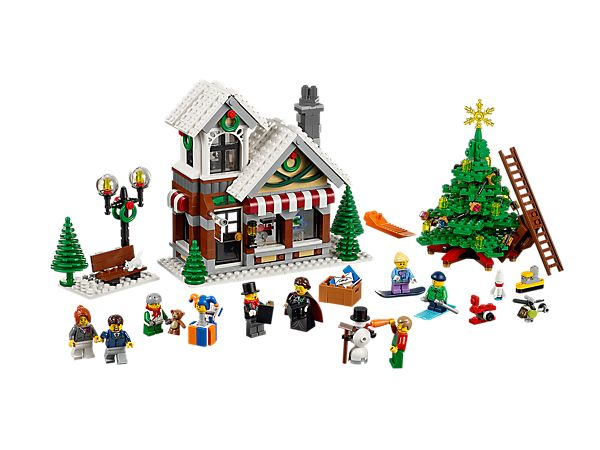Enjoy the holiday season with the Winter Toy Shop!