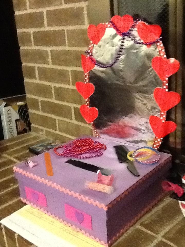 Brooklyn's Valentine Box Vanity!