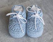 Zapatos niño de ganchillo Boy bendición zapatos, zapatos de bautismo de niño, zapatos niño, zapatos niño, zapatos de niño del bebé, bautizo zapatos, apoyo de foto,