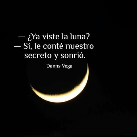 ¿Ya viste la luna?