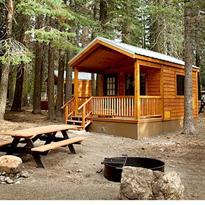 42 best cabin getaways lake camping camping cabins and for Log cabin builders in california
