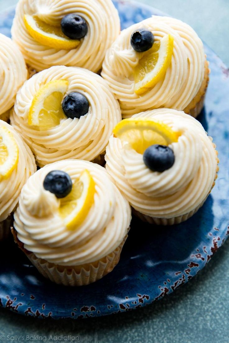 Tangy, sweet, and creamy lemon buttercream frosting tastes delicious on everything! So easy to make and fun to decorate!