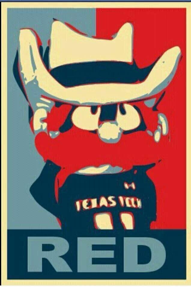 Cool print of Raider Red to frame for Texas Tech fans! @Texas Tech Athletics #TTU #wreckem #gunsup