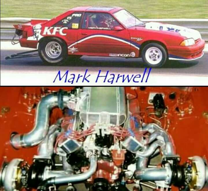 Mark Harwell Kfc Fox Body Ford Mustang 306ci Mexican