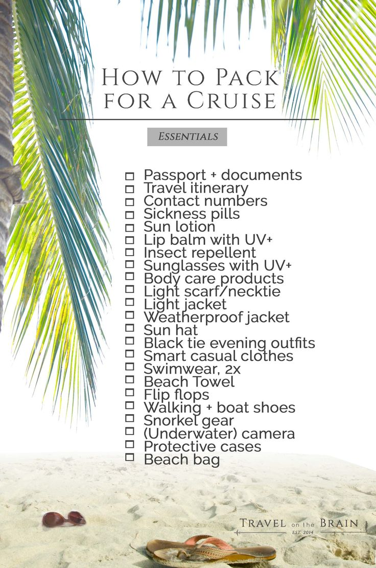 How to Pack for Your First Cruise with P&O