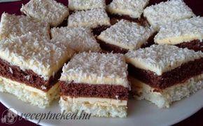 Erdélyi raffaello szelet recept fotóval