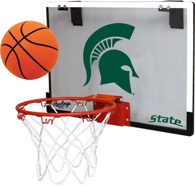 Michigan State Spartans Basketball Hoop Set