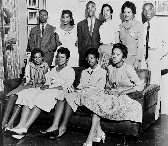 a history of the little rock nine in the american civil rights movement Kids learn about the history of the african-american civil rights  movement before the civil  rock, arkansas to allow the little rock nine to attend a.