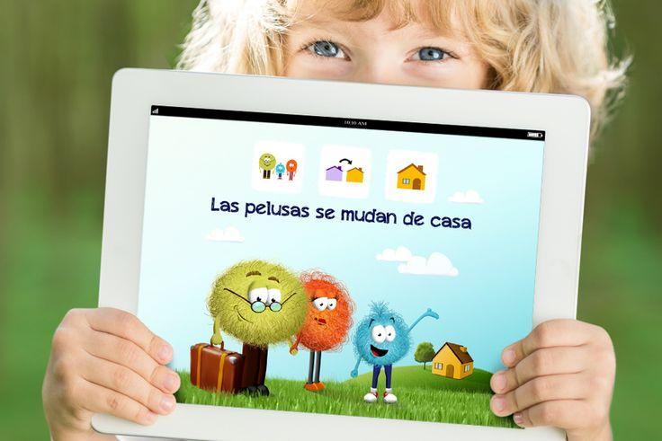 Aplicación interactiva. App infantil educativa. Libros infantiles. Cuentos infantiles cortos con pictogramas, descarga gratuita en: www.aprendicesvisuales.com