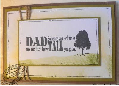 A great handmade fathers day/blokes birthday card Idea. Stamps used are from Crafty Roo Designs.