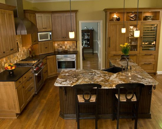 17 Best images about Kitchen with different color island ...