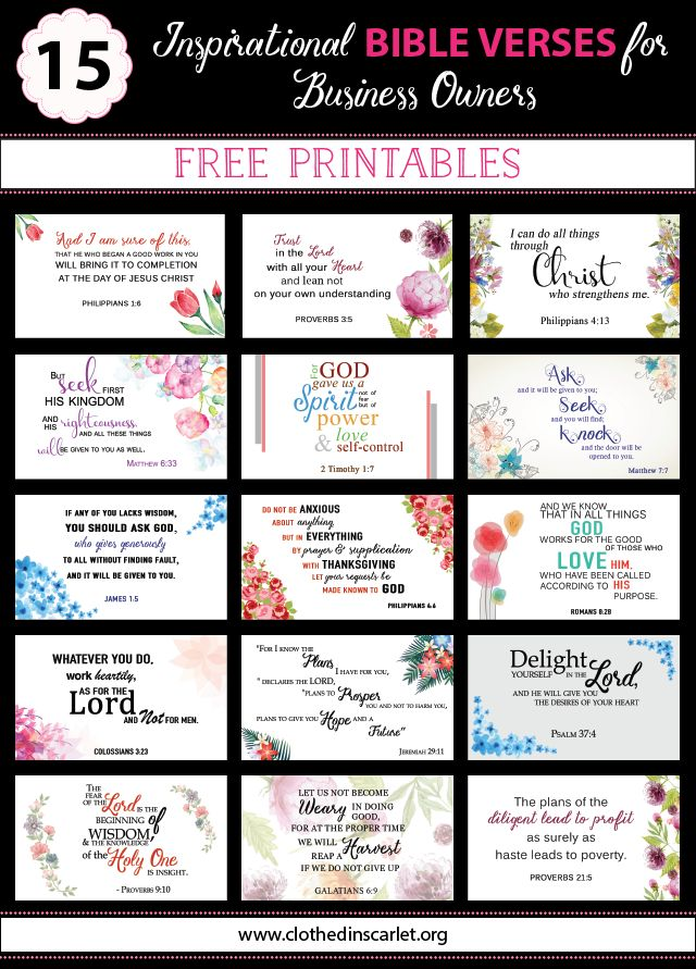 Best 25+ Printable bible verses ideas on Pinterest | Free ...
